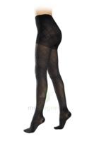 Sigvaris Styles Motifs Losanges Collant  Femme Classe 2 Noir Small Normal à BRUGUIERES