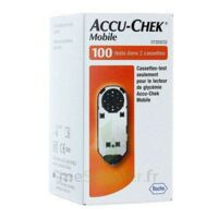 Accu-chek Mobile Cassettes B/2 X 50 à BRUGUIERES