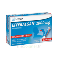 Efferalgan 1g Cappuccino Granules 8 Sachets à BRUGUIERES