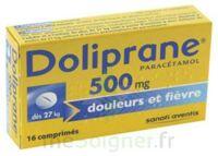 Doliprane 500 Mg Comprimés 2plq/8 (16) à BRUGUIERES