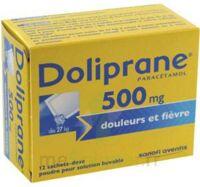 Doliprane 500 Mg Poudre Pour Solution Buvable En Sachet-dose B/12 à BRUGUIERES