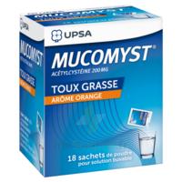 Mucomyst 200 Mg Poudre Pour Solution Buvable En Sachet B/18 à BRUGUIERES