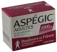 Aspegic Adultes 1000 Mg, Poudre Pour Solution Buvable En Sachet-dose 15 à BRUGUIERES