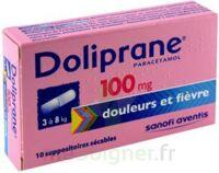 Doliprane 100 Mg Suppositoires Sécables 2plq/5 (10) à BRUGUIERES