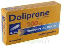 Doliprane 200 Mg Suppositoires 2plq/5 (10) à BRUGUIERES