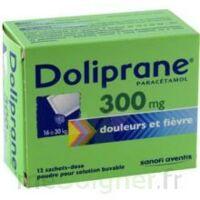 Doliprane 300 Mg Poudre Pour Solution Buvable En Sachet-dose B/12 à BRUGUIERES