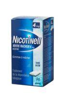 Nicotinell Menthe Fraicheur 4 Mg Sans Sucre, Gomme à Mâcher Médicamenteuse 8plq/12 à BRUGUIERES