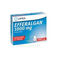 Efferalgan 1000 Mg Comprimés Pelliculés Plq/8 à BRUGUIERES