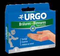 Urgo Brulures-blessures Petit Format X 6 à BRUGUIERES