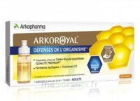 Arkoroyal Défenses Naturelles Gelée Adulte 7 Doses/10ml à BRUGUIERES