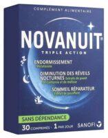 Novanuit Triple Action Comprimés B/30 à BRUGUIERES