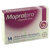 Mopralpro 20 Mg Cpr Gastro-rés Film/14 à BRUGUIERES