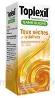 Toplexil 0,33 Mg/ml Sans Sucre Solution Buvable 150ml à BRUGUIERES