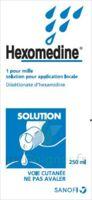 Hexomedine 1 Pour Mille S Appl Loc Fl/250ml à BRUGUIERES