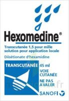 Hexomedine Transcutanee 1,5 Pour Mille, Solution Pour Application Locale à BRUGUIERES
