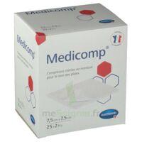 Medicomp® Compresses En Nontissé 7,5 X 7,5 Cm - Pochette De 2 - Boîte De 25 à BRUGUIERES