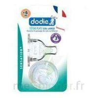 Dodie Sensation+ Tétine Plate Débit 2 Silicone 0-6mois à BRUGUIERES