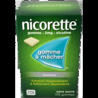 Nicorette 2 Mg Gom à Mâcher Médic Sans Sucre Menthe Fraîche Plq/105gom à BRUGUIERES