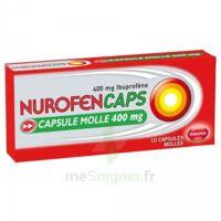Nurofencaps 400 Mg Caps Molle Plq/10 à BRUGUIERES