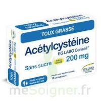 Acetylcysteine Eg Labo Conseil 200 Mg Sans Sucre, Poudre Pour Solution Buvable En Sachet-dose à BRUGUIERES