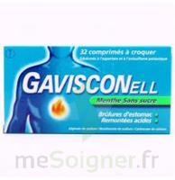 Gavisconell Coprimés à Croquer Sans Sucre Menthe édulcoré à L'aspartam Et à L'acésulfame Potas Plq/24 à BRUGUIERES