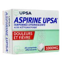 Aspirine Upsa Tamponnee Effervescente 1000 Mg, Comprimé Effervescent à BRUGUIERES