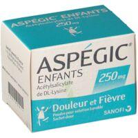 Aspegic Enfants 250, Poudre Pour Solution Buvable En Sachet-dose à BRUGUIERES