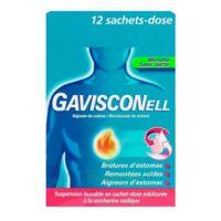 Gavisconell Suspension Buvable Sachet-dose Menthe Sans Sucre 12sach/10ml à BRUGUIERES