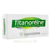 Titanoreine Suppositoires B/12 à BRUGUIERES