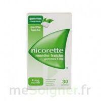 Nicorette 4 Mg Gom à Mâcher Médic Sans Sucre Menthe Fraîche Plq/30gom à BRUGUIERES