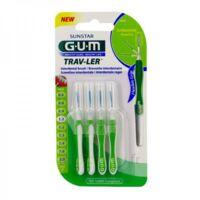 Gum Trav - Ler, 1,1 Mm, Manche Vert , Blister 4 à BRUGUIERES