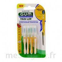 Gum Trav - Ler, 1,3 Mm, Manche Jaune , Blister 4 à BRUGUIERES