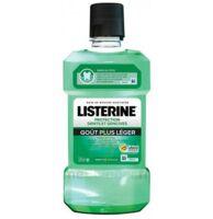 Listerine Protection Dents Gencives Bain Bouche Goût Plus Léger Fl/500ml à BRUGUIERES