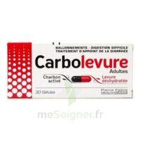 Carbolevure Gélules Adulte Plq/30 à BRUGUIERES