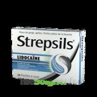 Strepsils Lidocaïne Pastilles Plq/24 à BRUGUIERES