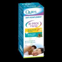 Quies Bi-pack 2 Sprays Buccal Et Nasale Anti-ronflement à BRUGUIERES