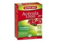 Superdiet Acérola 1000 Bio Comprimés à Croquer B/24 à BRUGUIERES