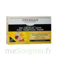 Herbesan Système Immunitaire 30 Ampoules à BRUGUIERES