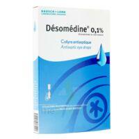 Desomedine 0,1 % Collyre Sol 10fl/0,6ml à BRUGUIERES