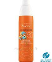 Avène Eau Thermale Solaire Spray Enfant 50+ 200ml à BRUGUIERES