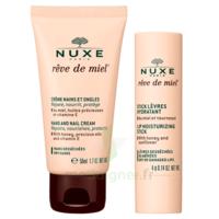 Rêve De Miel Crème Mains Et Ongles + Stick Lèvres Hydratant à BRUGUIERES