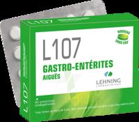 Lehning L107 Comprimés Orodispersibles 2plq Pvc/pvdc/alu/20 à BRUGUIERES