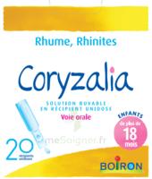 Boiron Coryzalia Solution Buvable Unidose B/20 à BRUGUIERES