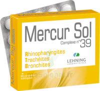 Lehning Mercur Sol Complexe N°39 Comprimés Sublinguals B/60 à BRUGUIERES
