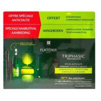 René Furterer Triphasic Progressive Sérum Antichute Coffret 8 Flacons X 5,5ml + Shampoing Stimulant 100 Ml à BRUGUIERES