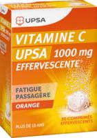 Vitamine C Upsa Effervescente 1000 Mg, Comprimé Effervescent à BRUGUIERES
