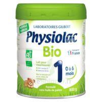 Physiolac Bio 1 Lait En Poudre B/800g à BRUGUIERES